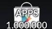 1 miljoen apps