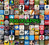 700000 apps