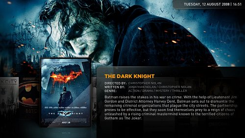 android media center film info