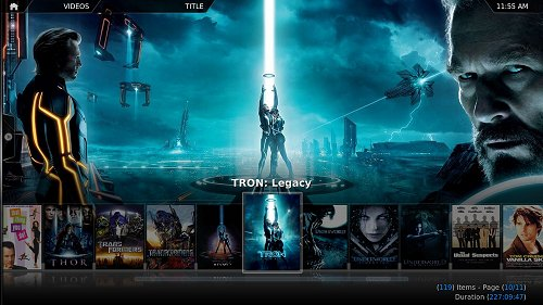 xbmc android media center