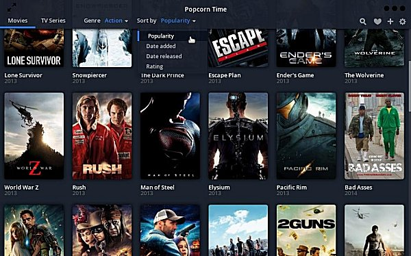 popcorn time android