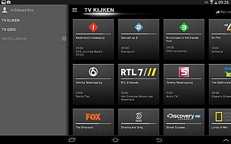 upc horizon app zenders