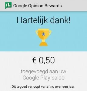 verdiensten opinion reward app
